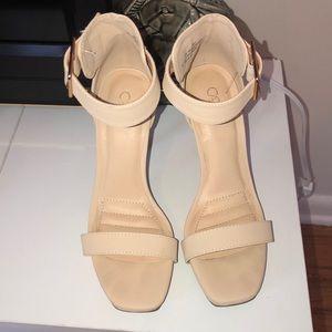 Size 8 Cato heels.